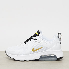 NIKE Air Max 200 white/metallic gold black