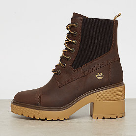 Timberland Silver Blossom Mid Bootie  md brown full grain