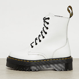 Dr. Martens Jadon White Polished Smooth