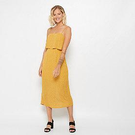 Edited Filia Dress gelb/weiss