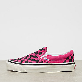 Vans UA Classic Slip-On DX og pink neon/checkerboard