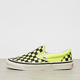 Vans UA Classic Slip-On DX og yellow neon/checkerboard