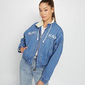 Karl Kani KK Sherpa Denim Jacket blue/white