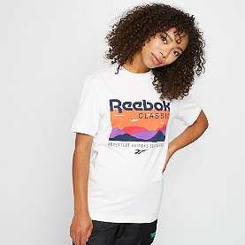 Reebok CL F Trail Graphic Tee white