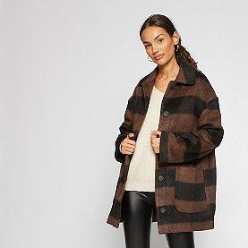Edited Kian Coat  black/brown