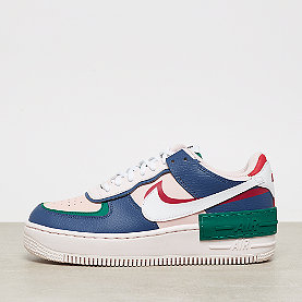 NIKE NSW Air Force 1 shadow  mystic navy/white-echo pink-gym red