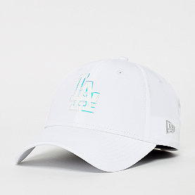 New Era Los Angeles dogers 9Forty  white/iridescent