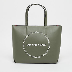 Calvin Klein Sculpted Tote  dusty olive