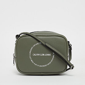 Calvin Klein Sculpted Camera Bag   dusty olive