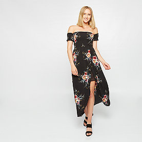 Effeny Off-Shoulder Kleid schwarz