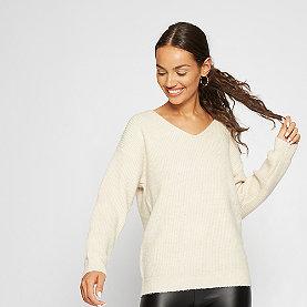 Effeny V-Neck Pullover beige
