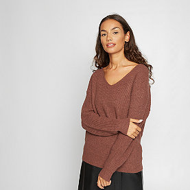 Effeny V-Neck Pullover rust