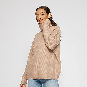 Effeny Rollkragen Pullover beige