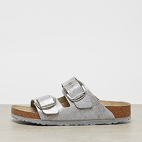 Birkenstock Arizona Big Buckle VL Washed metallic blue silver