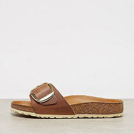 Birkenstock Madrid Big Buckle Normal Fit cognac