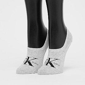 Calvin Klein Jeans Logo Sneaker pale grey heather