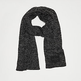 Calvin Klein Basic Rib Scarf black