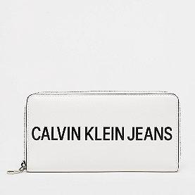 Calvin Klein Large Ziparound bright white