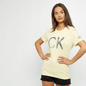 Calvin Klein Reversed CK Logo Modern Slim Tee anise flower