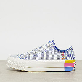 Converse Chuck Taylor All Star Lift Rainbow OX bozone blue/vintage wh