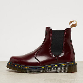 Dr. Martens Vegan 2976 Chelsea  Cherry Red Cambridge Brush