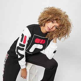 Fila Date Crew Sweat 2.0 black-bright white