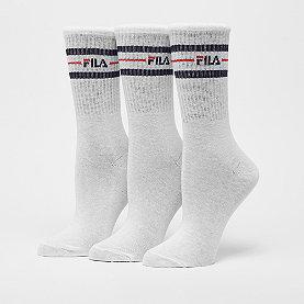 Fila Street Socks 3-Pack white