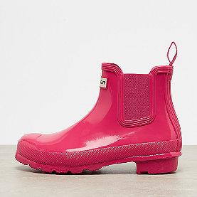 Hunter Original Chelsea Gloss  bright pink