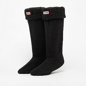 Hunter Sheepy Fleece B-Sock black