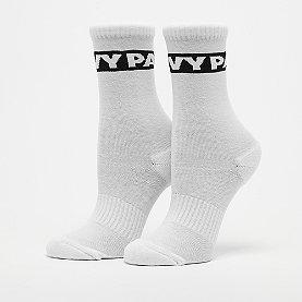 IVY PARK Logo Graphic Crew Socks 2 Pack white