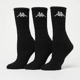 Kappa Sonotu Socks 3er-Pack black