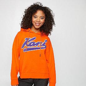 Karl Kani KK College Hoodie orange/purple