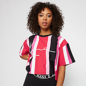 Karl Kani KK Signature Tee red/black/pink/white