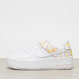 NIKE Air Force 1 Sage lo PRM white/laser orange/wolf grey/hyper p