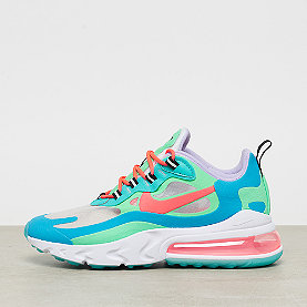 NIKE Air Max 270 React electro green/flash crimson blue lagoon
