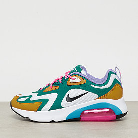NIKE Air Max 200  mystic green/white-gold suede