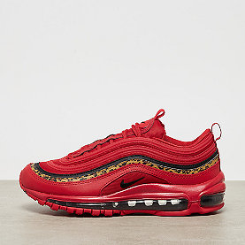 NIKE Air Max 97 unversity red / black print