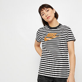 NIKE NSW T-Shirt Stripes  white/black