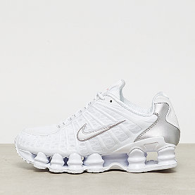 NIKE Nike Shox TL white/white metallic silver max orange