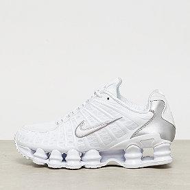 NIKE Nike Shox TL  white/white metallic silver max orange
