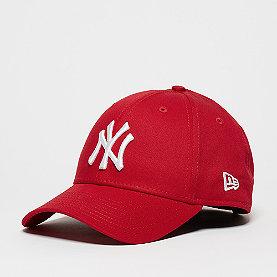 New Era 9FORTY New York Yankees scarlett/white