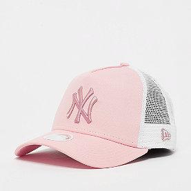 New Era New York Yankees Womens League Essential Trucker pnk/pnk