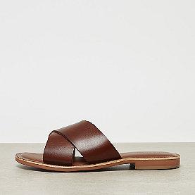 ONYGO Cross Strap Flats brown