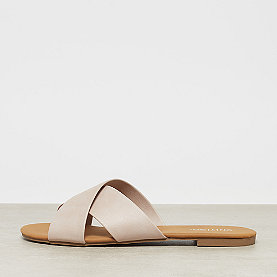 ONYGO Cross Strap Flats rose