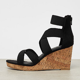 ONYGO Espadrille Wedge black