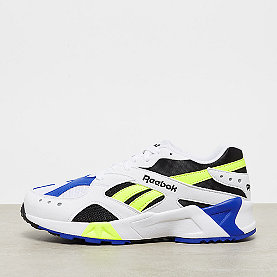 Reebok Aztrek white/black/crushed clobalt/solar yellow