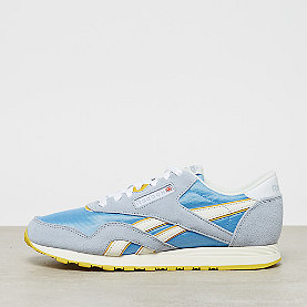 Reebok CL Nylon gable grey/sky blue/urban yellow/white