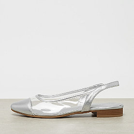 ONYGO Slingback Ballerina silver/ transluscent