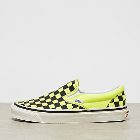 Vans UA Classic Slip-On DX og yellow neon/checkerboard