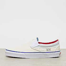Vans UA Classic Slip-On natural/stv navy/red